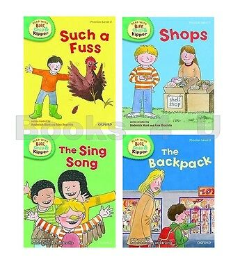 Level 3 Oxford Reading Tree Biff Chip Kipper Phonics Collection 4 Book Set