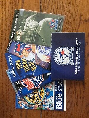 Blue Jays Pocket Schedules