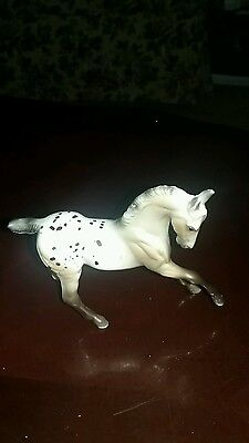 Breyer Stablemate Warmblood G2 Appy. rare strawberry roan