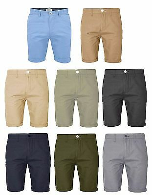 New Men's 100% Cotton Summer Roll Up Casual Verities Color Half Pant