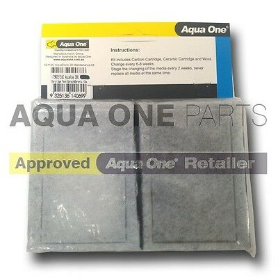 Aqua One Aqua Zone 28 Carbon Cartridges FREEPOST UK
