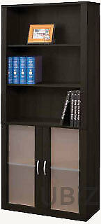 NEW Soho Bookcase/Bookshelf, Cherry, Espresso - Home Furniture