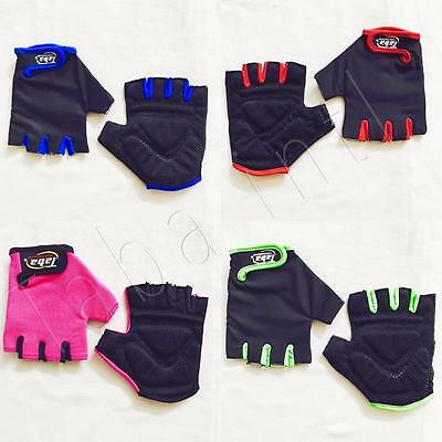Mens And Women Cycling Bike Bicycle Half Finger Fingerless Gloves Outdoor Sports