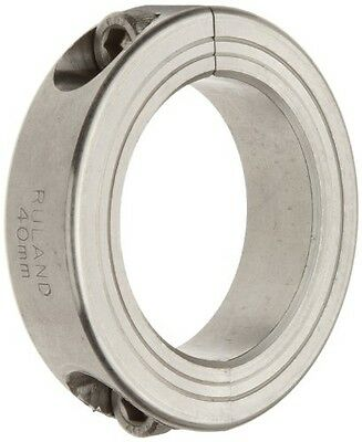 Ruland MSP-25-ST Two-Piece Clamping Shaft Collar, 316 Stainless Steel, Metric,