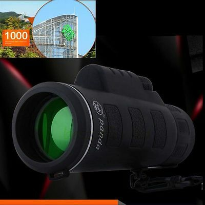 Outdoor Day&Night Vision 40X60 HD Optical Monocular Hunting Hiking Telescope YX