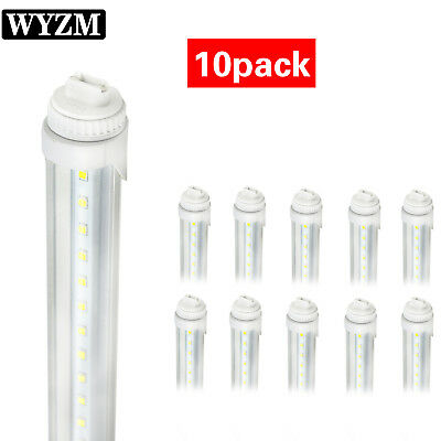 R17D 8FT Feet 40W F96T12 T8 Replacement LED Tube Light Clear Lens AC 100-277V