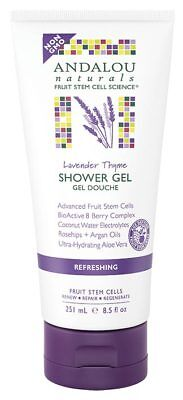 Lavender Refreshing Shower Gel 251ml - Andalou Naturals
