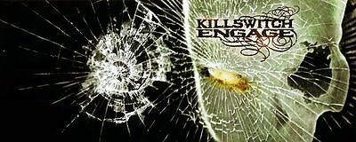 Killswitch Engage Music Poster 26'' X 10
