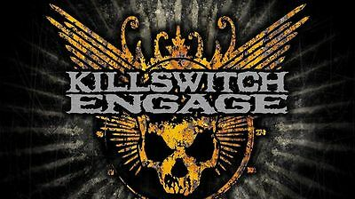 Killswitch Engage Music Poster 28'' X 15''