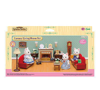Sylvanian Families 2666 Luxury Living Room Set NEU & OVP