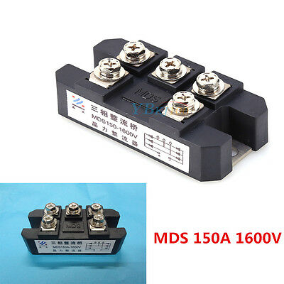 MDS150A 3-Phase Diode Bridge Rectifier 150A MDS 1600V 150 amp 1600 Volt  AM