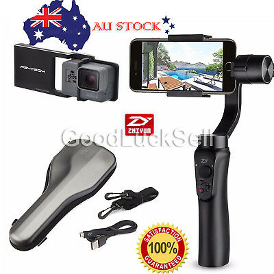 """Zhiyun Z1-Smooth-C 3 Axis Handheld Gimbal for all Smart Phones within 7"""" AU"""