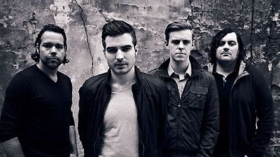The Boxer Rebellion Music Band Poster 20'' X 11''