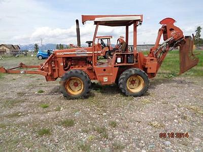 1994 Ditch Witch 8020 Trenchers