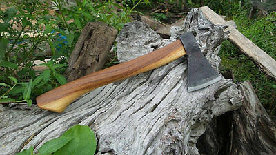Thai Camp Axe - Hand Forged Hatchet Best Wood Axe - Wood Hatchet Splitting Axe