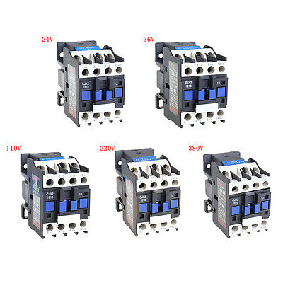 CJX2-1810 Contactor 18A Switches LC1 AC Contactor Voltage 24V 36V 110V 220V 380V