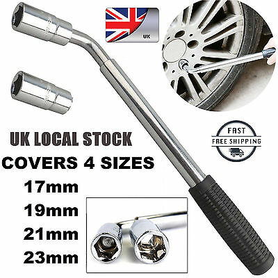 17 19 21 23mm Extendable Wheel Telescopic For Car Brace Socket Tyre Nut Wrench