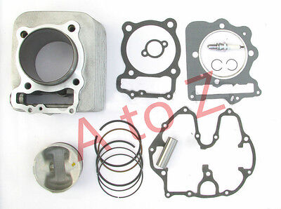 Cylinder Piston ring Gasket Kit Assembly Fits Honda XR 400R TRX400X 1996-2004 E4