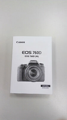 Manual Canon EOS 760D (Castellano)