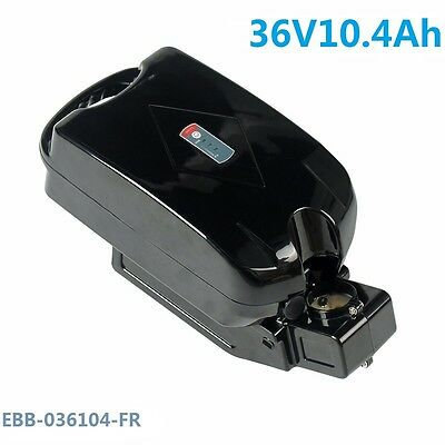 36V10.4Ah Samsung Lithium-ion Battery Frog Type for Electric Bike Charger BMS