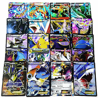 Pokemon Card Alle MEGA Holo Flash Trading Cards / Pokemon Karten Album Buch