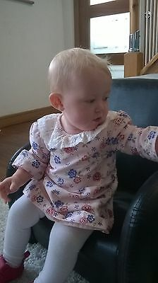 Brand New with Tags ' Their Nibs' Baby girls retro style dress