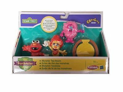 New Sesame Street Furchester Hotel Monster Tea Room Toy Playset Age 18m+