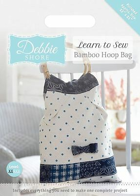 Debbie Shore Craft Pattern Learn to Sew Craft Box Set Project - Bamboo Hoop Bag