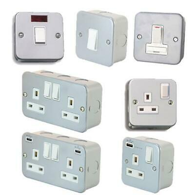 Metal Clad Electrical Switches & Sockets Garden Sockets Garage Workshop