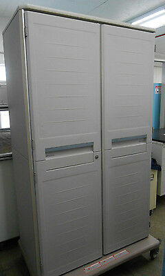 "Metro Starsys Double Wide Tall Mobile Unit Cart 41 X 24 X 76"" (Wdh) 98089562"