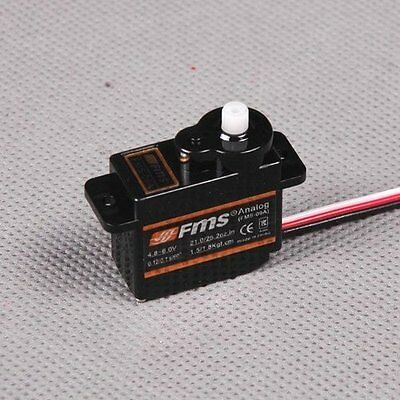FMS 9G Slow Flap Servo Positive W/300mm Length Cable - FMSSER9SLP