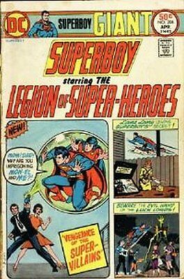 Superboy (Vol 1) # 208 (FN+) (Fne Plus+) DC Comics ORIG US