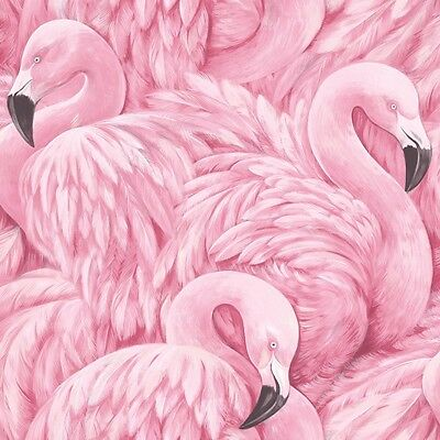 Pink Flamingo Wallpaper by Rasch Large Scale Flamingos 277890