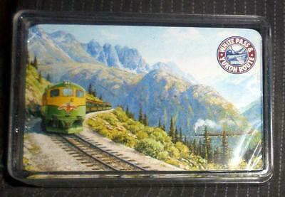 Vintage White Pass & Yukon Route Train Playing Cards NEW IN BOX Free Shipping MD