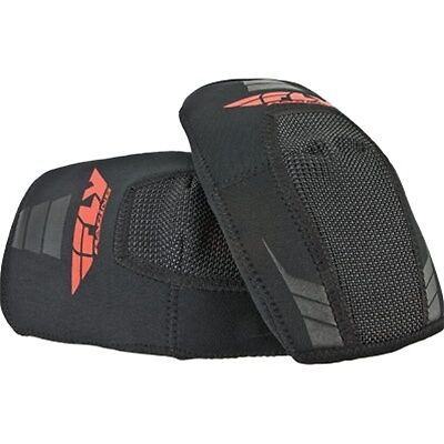 FLY Racing Flex Motocross Mx Dirt Bike Off Road Elbow Guards-Black- Large
