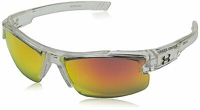 Under Armour Nitro L Youth Large 8600048-141441 Sunglasses, Shiny Crystal Clear,