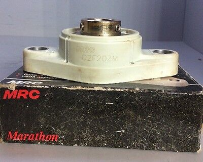 MRC Marathon C2F20ZM 20mm USDA Approved Mounted Bearing