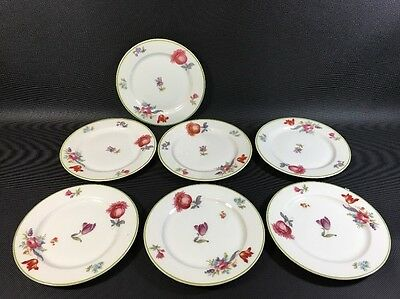 """7 Syracuse China Old Ivory (OPCO) Haarlem  Bread & Butter Plates 5 1/2"""" 2V"""