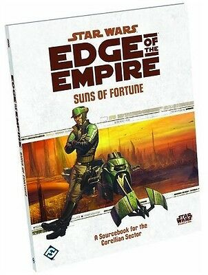 Star Wars Edge Of The Empire Rpg: Suns Of Fortune  - BRAND NEW
