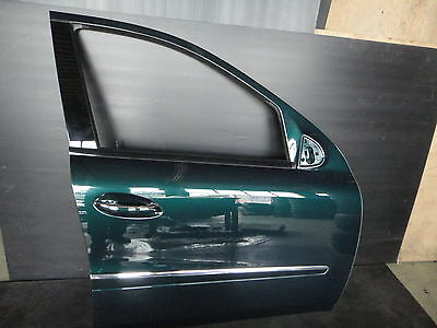 07-10 Mercedes Gl Oem Front Right Passenger Side Door Metal Shell Panel Green