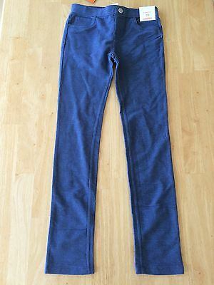 NWT Gymboree Blue Jeggings Girl Pull on Pants Size 7 8