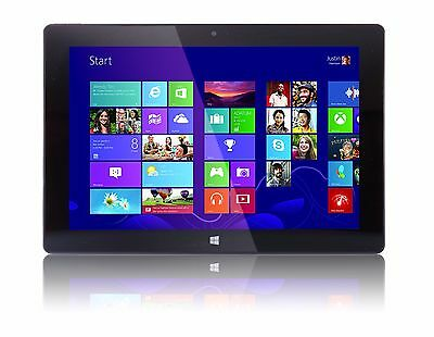 "Fusion5 10.1"" Windows 8.1 Intel Baytrail Quad-core Tablet PC UK"