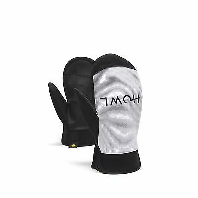 2017 NWT MENS HOWL JEEPSTER SNOWBOARD MITTENS $39.50 L white gloves