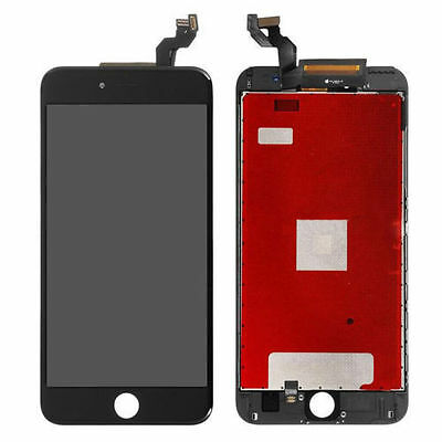 LCD Touch Screen Digitizer Front Glass Assembly Replacement for iPhone 6s Black