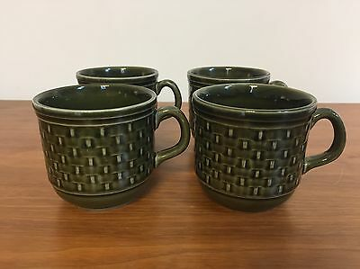 Green Tams Mugs Cups Retro 70s 60s Vintage