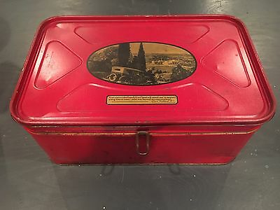 Large Vintage Tin Container - Beech Nut