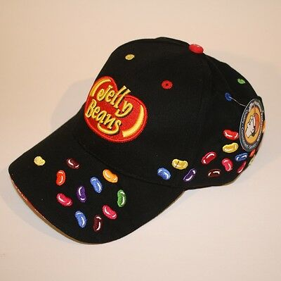 Jelly Beans Embroidered Baseball Cap Hat 100% Cotton  Sweet Fun  New with Tag
