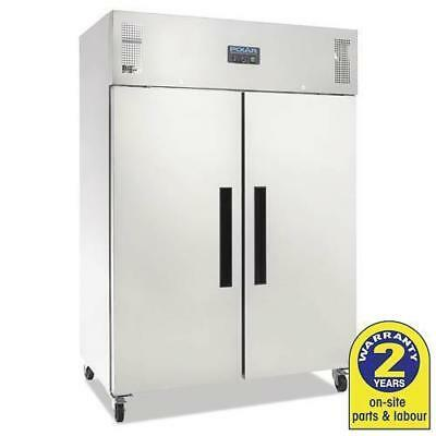 Commercial Fridge, 1200 Litres, 2 Door, Stainless Steel, Polar Refrigeration