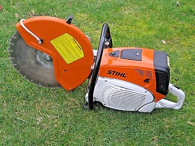 "Stiihl TS800 Concrete Cut Off Chop Saw W/ 16"" Diamond Blade, Water Injection"