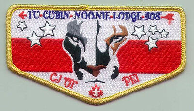 2001 Canada Scout Jamboree - USA BOY SCOUTS OF AMERICA BSA LODGE 508 FLAP Patch